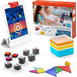 Osmo Genius Coffret Complet (Version française) -5 Univers de Jeux-De 6 à 10 Ans – Résolution de problèmes et créativité-S...