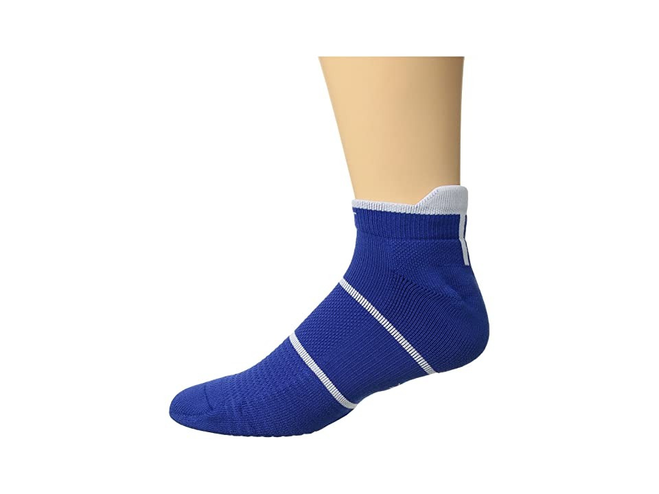 Nike NikeCourt Essentials No Show Tennis Socks (Game Royal/White) No Show Socks Shoes