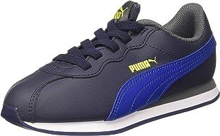 Puma Boy's Turin Ii Ac Ps Peacoat-Galaxy Blue Sneakers