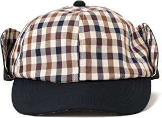 (ビームス)BEAMS/帽子 Aquascutum × BEAMS/別注 Ear Flap Cap メンズ