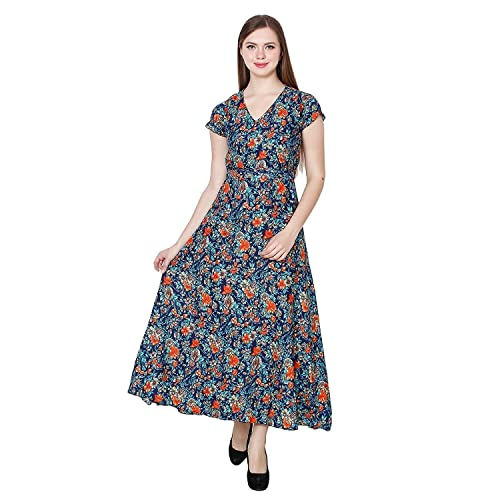 b45df4840702 Floral Maxi Dress  Buy Floral Maxi Dress Online at Best Prices in ...