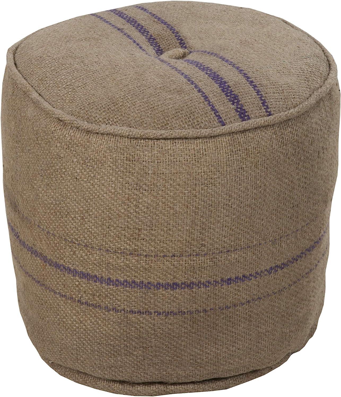 Artistic Weavers Ranking TOP3 Decorative Pouf Beige 17-Inch Ultra-Cheap Deals 18 by