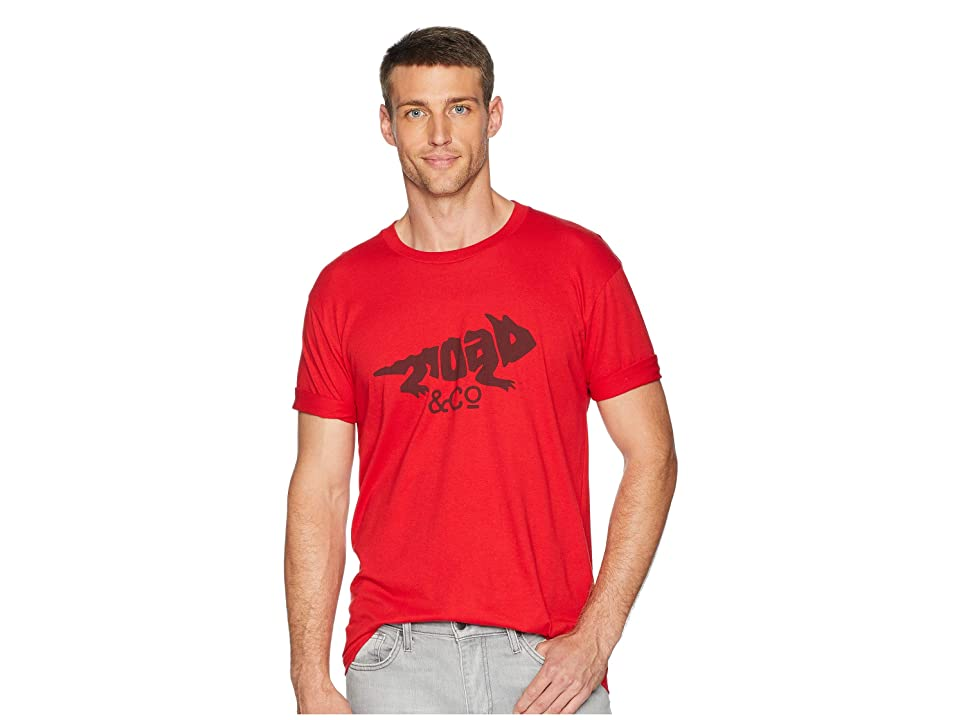 Toad&Co Imbedded Toad Tee (Phoenix Red) Men