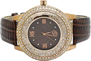 Diamond Dior Casual Watch For Women Analog Leather - D0946025