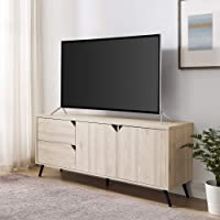 Deals on Walker Edison Lawrence Mid Century Stand for TVs up to 65in