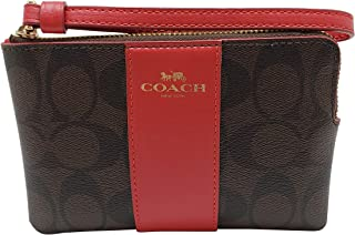 Crossgrain Leather Corner Zip Wristlet