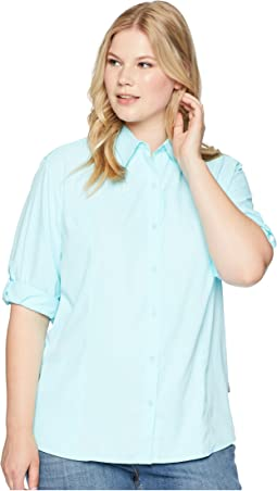 Plus Size Gobi Desert Long Sleeve Shirt