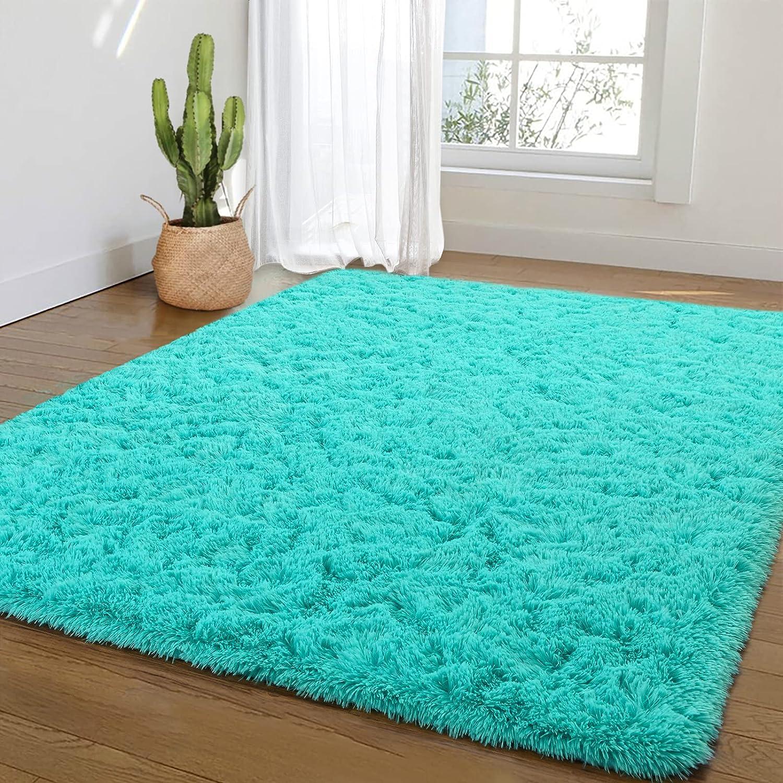 Beraliy Soft Bedroom Area Rugs for Plush Super Special SALE held Living Fluffy Shag Jacksonville Mall Room