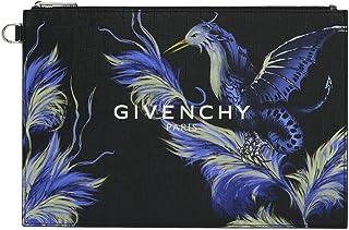 Givenchy Men's BB607VB0MU001 Black Cotton Clutch