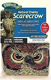 Gardeneer by Dalen Natural Enemy Scarecrow Inflatable Owl - 100055844