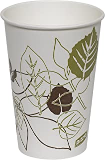 Dixie 16 oz. Polycoated Paper Cold Cup by GP PRO (Georgia-Pacific), Pathways, 16PPATH, 1,200 Count (50 Cups Per Sleeve, 24 Sleeves Per Case)