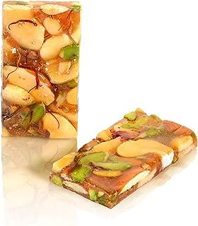 Charliee (Mumbai) Mix Nut Chikki, Brittle Candy, Kadalai Mittai, Indian Snack Food - 150 grams (5.5 oz)