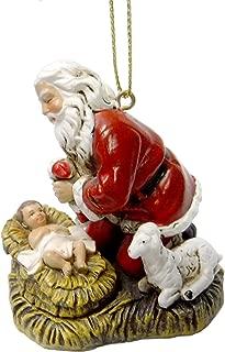 Best santa with baby jesus figurine Reviews