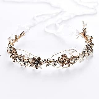 Best bronze wedding hair accessories Reviews