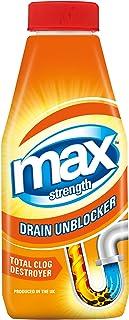 Max Strength Drain Unblocker, 500 ml