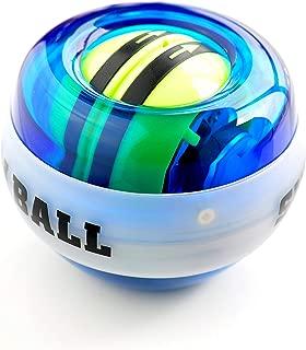 Yusam Auto-Start Wrist Trainer Wrist Ball Exerciser Wrist Arm Strengthener Workout Toy Spinner Gyroscope Ball