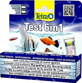 Tetra Test 6in1- Prueba de agua para controlar los seis valores más importantes del agua en un solo paso, permite una rápi...