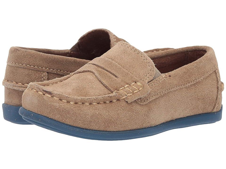 Florsheim Kids Jasper Driver Jr. (Toddler/Little Kid/Big Kid) (Sand Suede) Boys Shoes