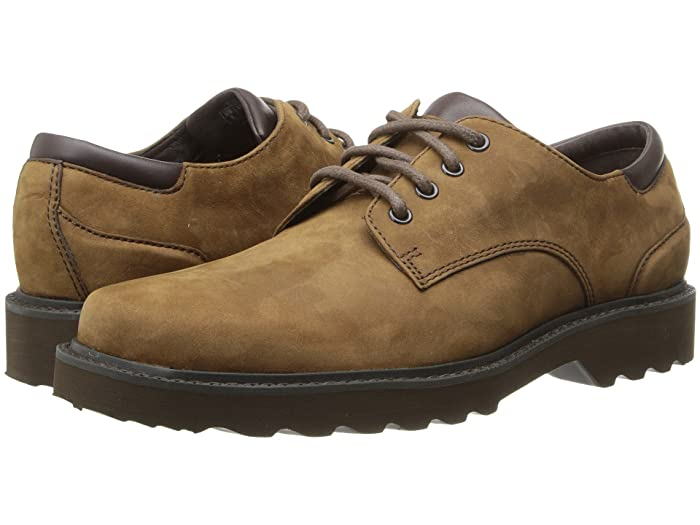 Rockport  Main Route Northfield Waterproof (Espresso Nubuck) Mens Lace up casual Shoes