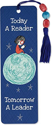Today a Reader, Tomorrow a Leader Beaded Bookmark
