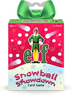 Funko Elf - Snowball Showdown Card Game, Multicolour