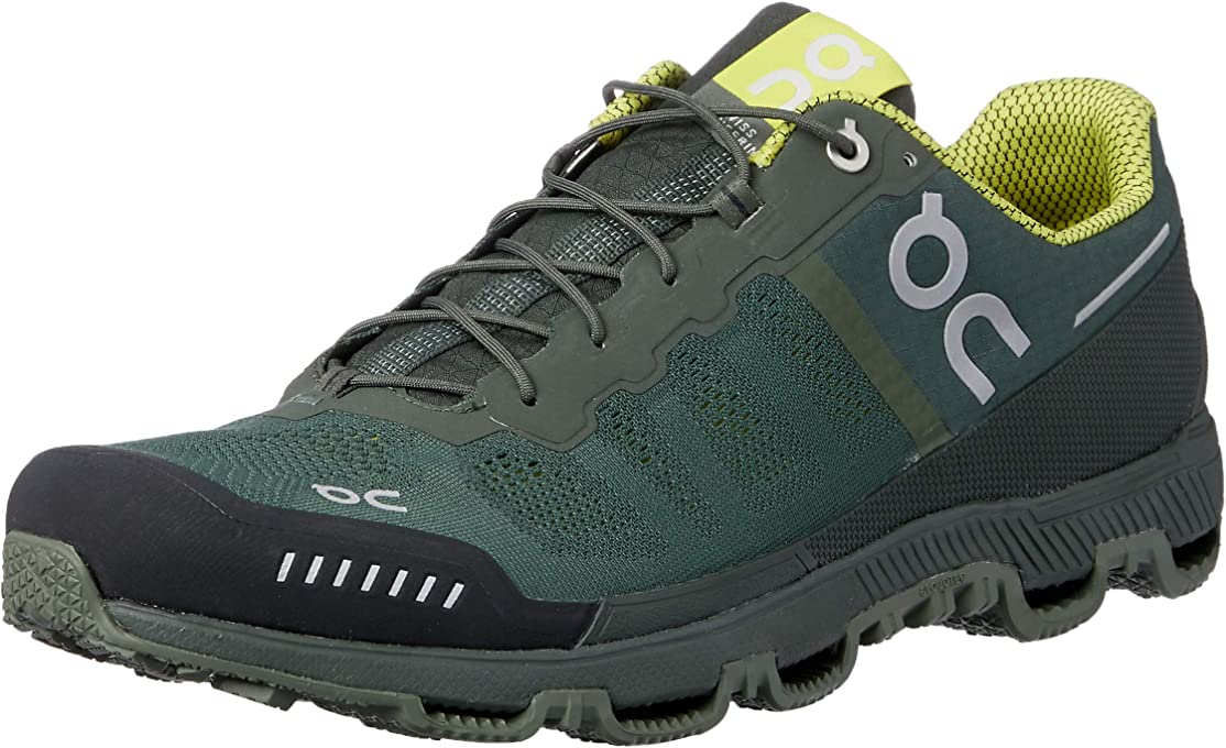 On Men's Cloudventure Running Shoes, Forest/Sulphur, 8.5 AU/US