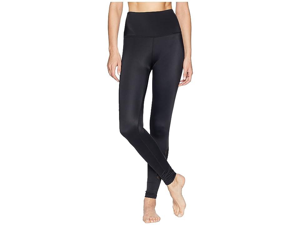 Beyond Yoga Take Leaf High-Waisted Long Leggings (Black) Women