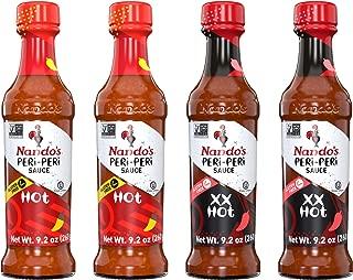 Nando's PERi PERi Sauce Hot, Extra Extra Hot 9.1oz, 4PK