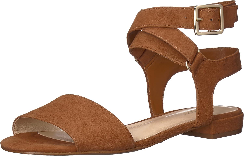 Nine West Women's inch Suede Flat Sandal