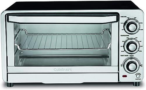 popular Cuisinart discount TOB-40N Custom Classic Toaster Oven Broiler,Black, outlet online sale 17 Inch outlet online sale