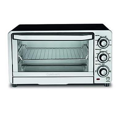 Cuisinart TOB-40N Custom Classic Toaster Oven Broiler,Black