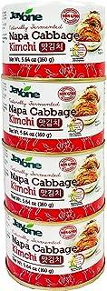 Korean Canned Kimchi, Napa Cabbage Kimchi, Naturally Fermented, Non-GMO, No preservatives, No additives- (5.64oz x 4)