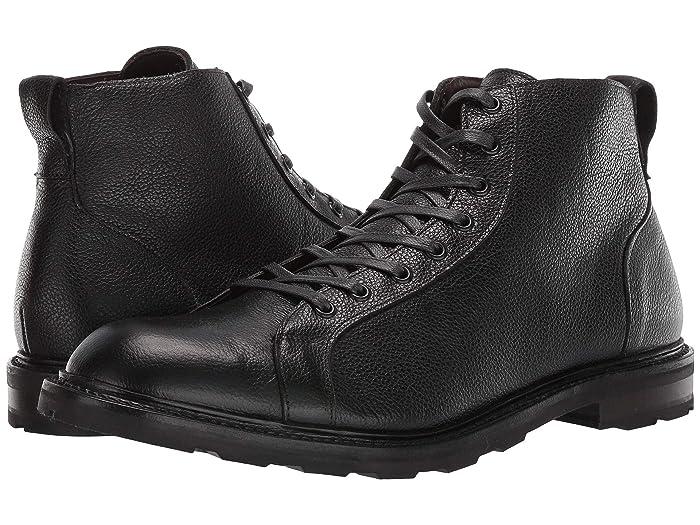 Men's Vintage Workwear Inspired Clothing Allen Edmonds Alpine Lace Black Mens Shoes $425.00 AT vintagedancer.com