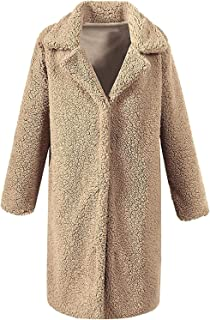 Surprise S Lamb Velvet Imitation European and American Fashion Leisure Coat Jacket Woman