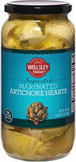 Wellsley Farms Marinated Artichokes, 34.6 oz. (pack of 2)