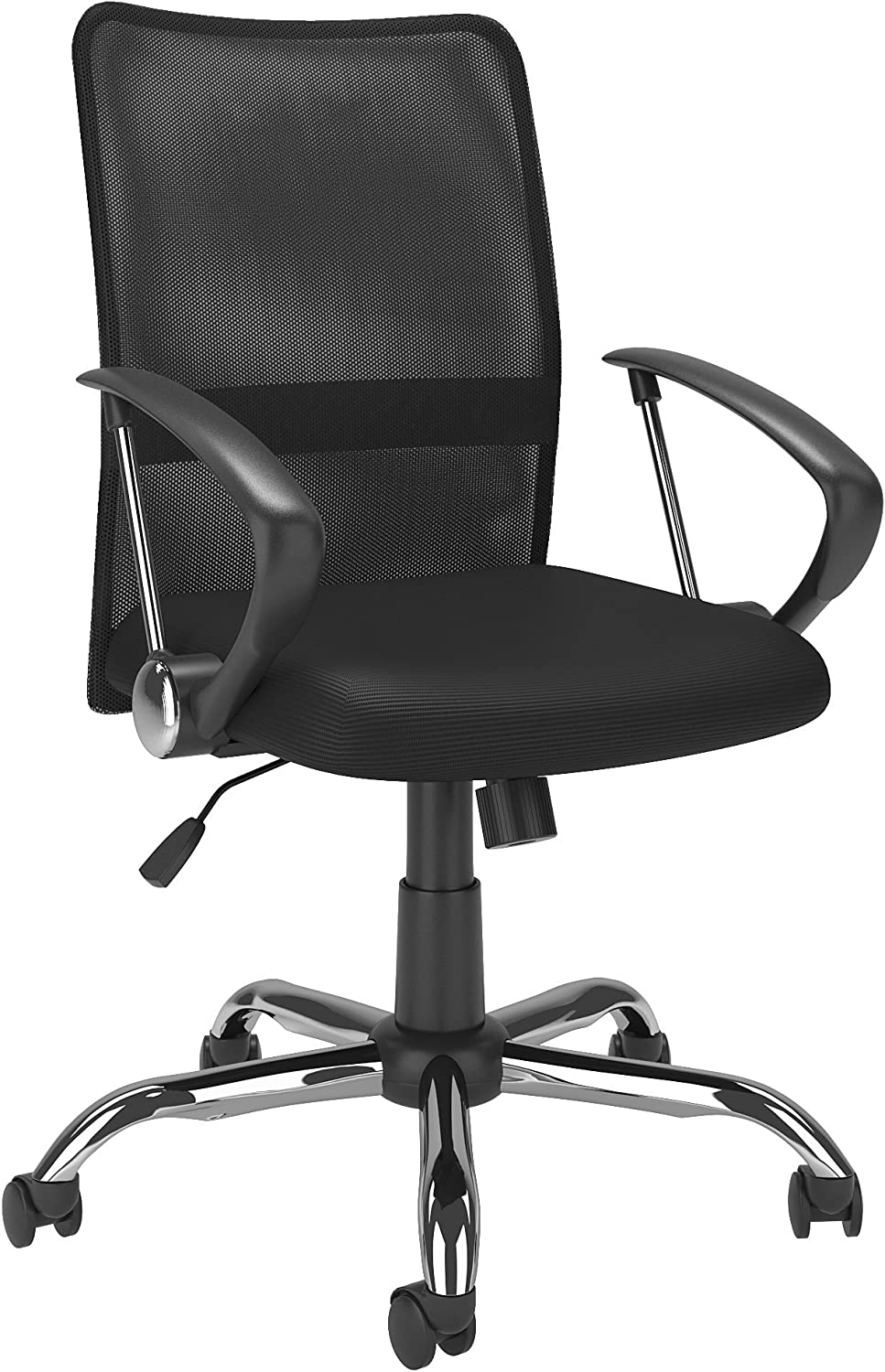 CorLiving WHL-709-C Office Chair, Black