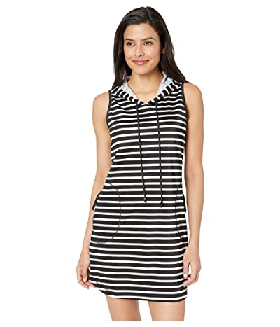 Tommy Bahama Active Hooded Spa Dress (Black) Women