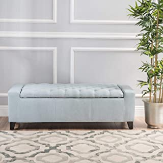 Ilchester Upholstered Flip Top Storage Bench