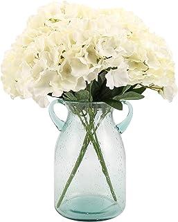 Artificial Silk Hydrangea Bouquet Fake Flowers Arrangement Home Wedding Decor,1 Bunch of..