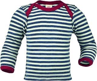 Engel Baby Unterhemd/Schupfhemd Langarm, 100% kbT Wolle