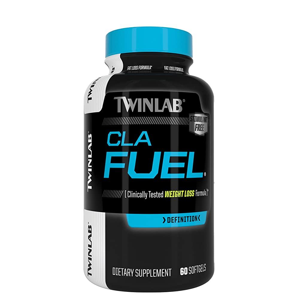 蜜軽食運命的な海外直送品Stimulant Free CLA Fuel, 60 Sgels by Twinlab