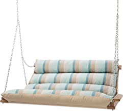 double cushioned porch swing