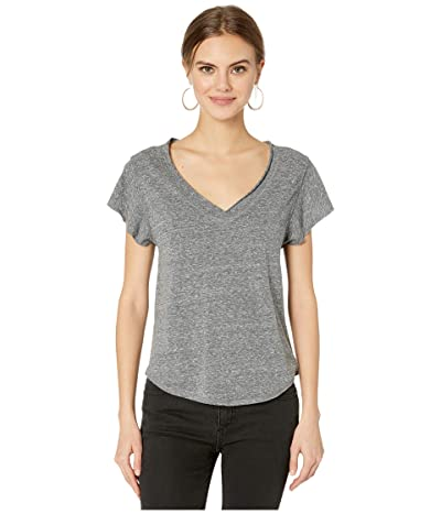 Free People Effortless Tee (Grey) Women