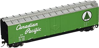Walthers Trainline 50' Plug-Door Boxcar with Metal Wheels Ready to Run Canadian Pacific