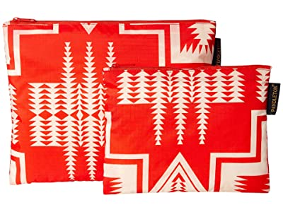 Pendleton 2-Pack Zip Pouch (Harding Red) Travel Pouch
