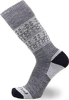 Kids Alpaca Ski Socks - Warm Wool Ski Sock for Boys and Girls - Skiing, Snowboarding