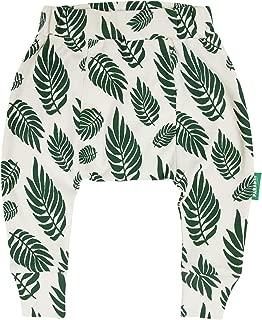 PARADE ORGANICS Harem Pants - Signature Prints Green Leaves 2T