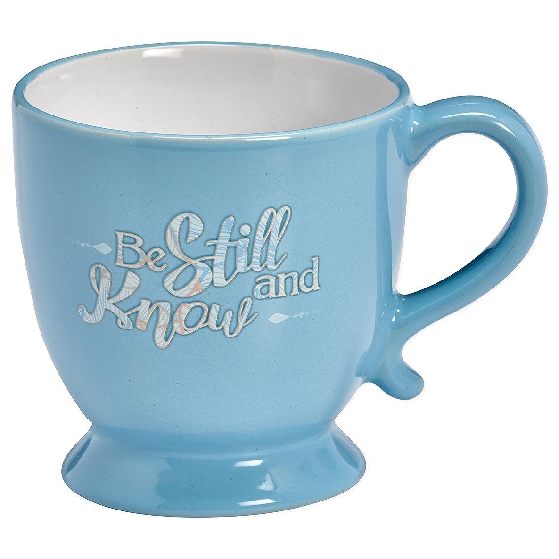 Christian Tools Affirmation Mug-Be Still And Know w/Gift Box (Psalm 46:10 KJV)