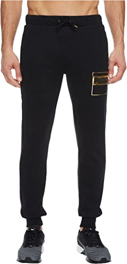 PUMA - Rebel Gold Sweatpants Fleece