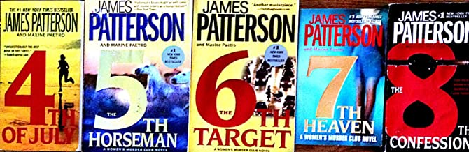 James Patterson Murder Club 4-8 (4th of July, 5th Horseman, 6th Target, 7th Heaven, & 8th Confession)